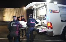 Cuerpo de 'Guacho' fue trasladado a Esmeraldas, Ecuador