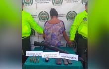 Policía decomisa armamento en La Guajira