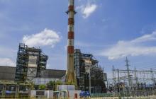 Instalaciones de la planta térmica Tebsa ubicada en Barranquilla.