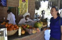 Banano y fresa, lo que más consumen los tenistas