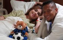 Nació Jacobo, el hijo de Sara Uribe y Fredy Guarín