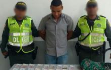 Darwin Alberto Machado Torres, capturado.