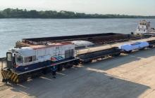 Ternium realiza operación multimodal desde Barranquilla con 4 mil toneladas de acero