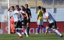 Una Colombia sin gol pierde ante Argentina en el sub-20