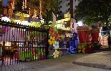 En video | En Barranquilla, las fachadas se visten de Carnaval