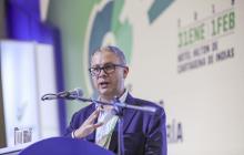 El superintendente financiero, Juan Carlos Alfaro.