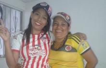 Julieth Gómez Vásquez y su mamá Neyla Isabel Vásquez Carrillo, ambas baleadas. La primera murió.
