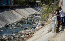 En Universal y El Parque, vecinos piden limpieza del arroyo Don Juan