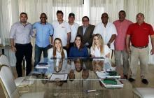 Reunión en Barranquilla para la realización del Panamericano de Sóftbol.