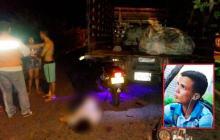 Motociclista fallece tras chocar con un furgón en Galapa