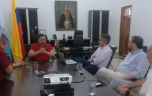 Alcaldía y Camcomercio acuerdan trabajo unido por Santa Marta