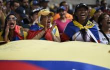 Guaidó lidera nueva marcha para exigir a Maduro que deje ingresar ayuda humanitaria