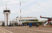 Pasajeros en el aeropuerto de Riohacha aumentaron en un 46,30% durante enero
