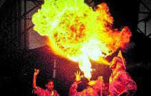 La tradición del Carnaval se vivió en la Plaza de la Paz