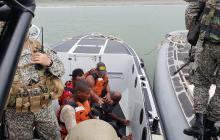 Rescatan a pescadores secuestrados por Clan del Golfo