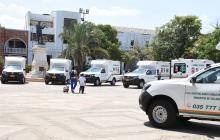 Entregan nueve ambulancias para hospitales de La Guajira