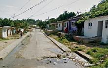 En la calle 60, entre carreras 9L y 9M del barrio El Bosque ocurrió la riña entre pandillas.