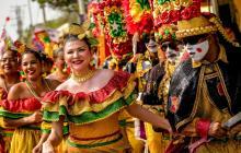 Los congos dirán presente en este desfile que despedirá el Carnaval de este año.