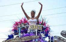 Entre cumbia, comparsas y disfraces, Soledad vivió su Batalla de Flores