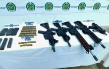 Incautan armas en Tumaco, pertenecientes a grupo que lideraba 'Guacho'