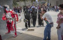 El fotógrafo que viajó desde España a retratar el Carnaval