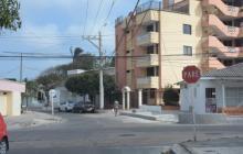 Sector del barrio Olaya donde ocurrió el hecho delictivo.