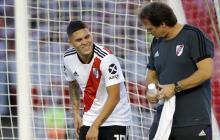 La grave lesión de  'Juanfer' Quintero conmueve a River y a Colombia