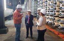 Planta desalinizadora de agua para Santa Marta tiene su hoja de ruta
