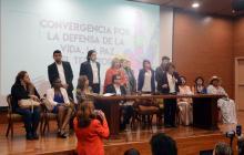 Oposición lanza alianza política para comicios de octubre