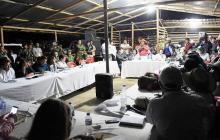 Sin humo blanco termina reunión entre Gobierno y líderes indígenas del Cauca