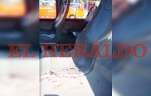 """""""Dale a menos de 40 o te lo pego"""": el relato del conductor del bus en que fue baleada la niña"""