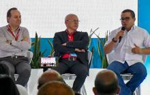 Fernando Montoya, Diego Vivas y Humberto Ripoll.
