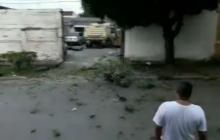 En video   Activan motocicleta bomba cerca a la alcaldía de Miranda en Cauca