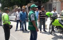 Policía y Tránsito realizan los operativos.