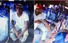 En video | Capturan en Galapa a hombre que quedó grabado atracando en bus intermunicipal
