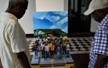 'Migraciones afrodescendientes de los Montes de María', del artista Edgardo Camacho.