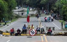 Muere un indígena durante enfrentamientos en la vía Panamericana