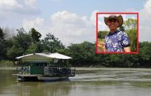 Juan David Soto Luego fue encontrado en las aguas del río Sinú.