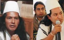 Rogelio Mejía (izq) y Norey Maku Quigua.