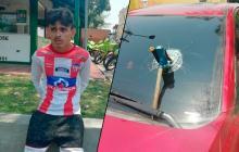 Policía detuvo a joven que limpiaba vidrios y partió panorámico de carro