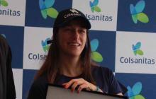 Mariana  Duque anuncia su retiro  del tenis