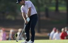 Italiano Molinari se apodera de la cima en el Masters de Augusta