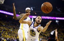 Warriors abren firmes los playoffs de la NBA y Nets y Magic sorprenden