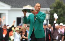 Tiger Woods hace historia ganando el Masters de Augusta