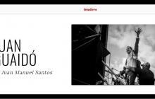 Expresidente Santos escribe artículo sobre Guaidó para Revista Time