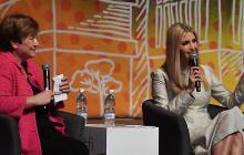 Ivanka Trump alienta el empoderamiento económico femenino en Costa de Marfil