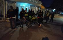 En video | Hombres armados intentan ingresar a casa de presidente del Concejo de Soledad
