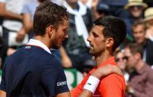 Djokovic cae, Nadal sigue de favorito