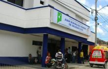 Fachada del Hospital Juan Domínguez Romero.
