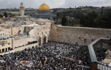 Miles de judíos celebran la pascua judía en Jerusalén